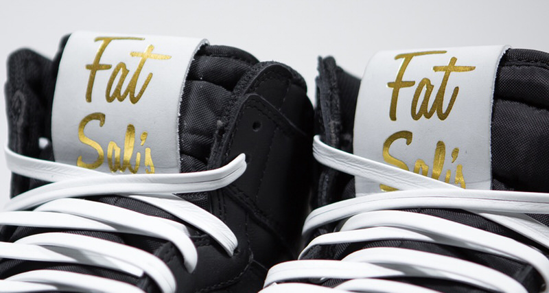 The Shoe Surgeon X Fat Sal's Friends and Family Air Jordan 1 Custom