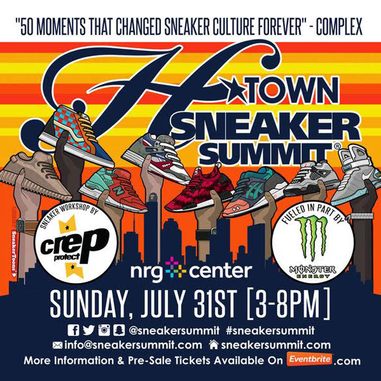 H-Town Sneaker Summit Returns this July