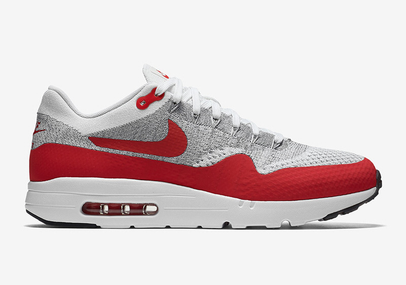 Nike Air Max 1 Flyknit Sport Red