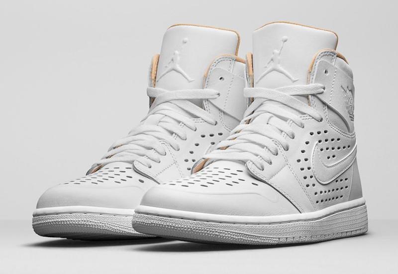 Air Jordan 1 High White/Vachetta