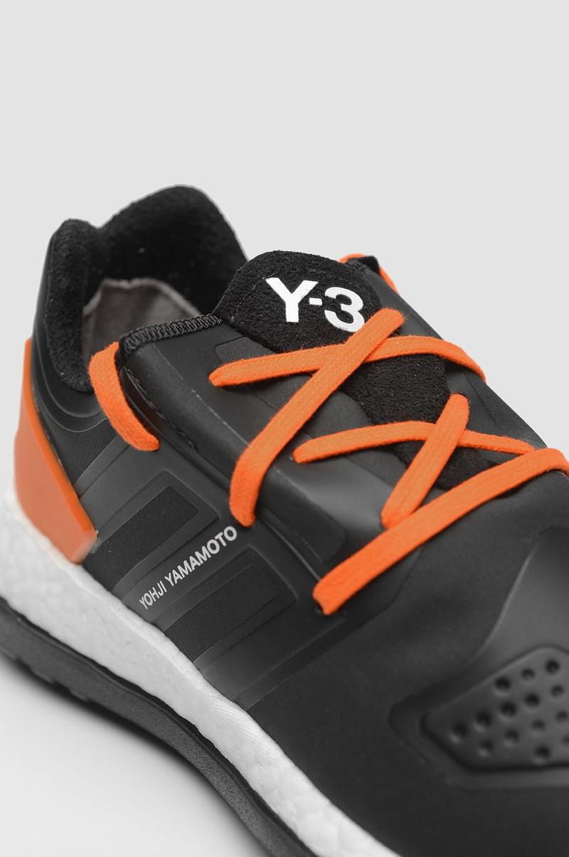 adidas Y-3 Pure Boost ZG Black/Orange | Nice Kicks