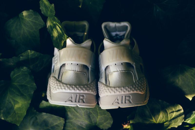 """Nike Air Huarache Run PRM """"Neutral Grey"""""""
