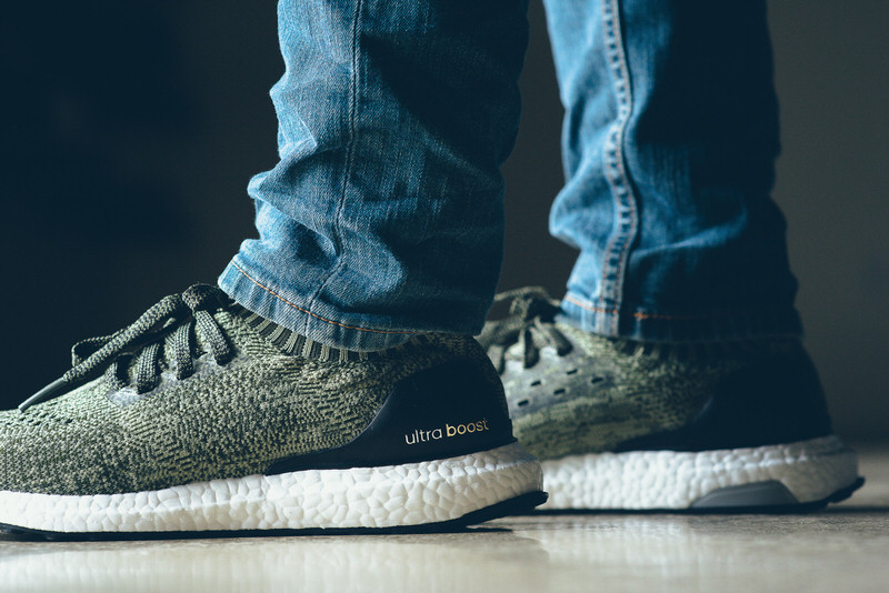 adidas Ultra Boost Uncaged Olive Green