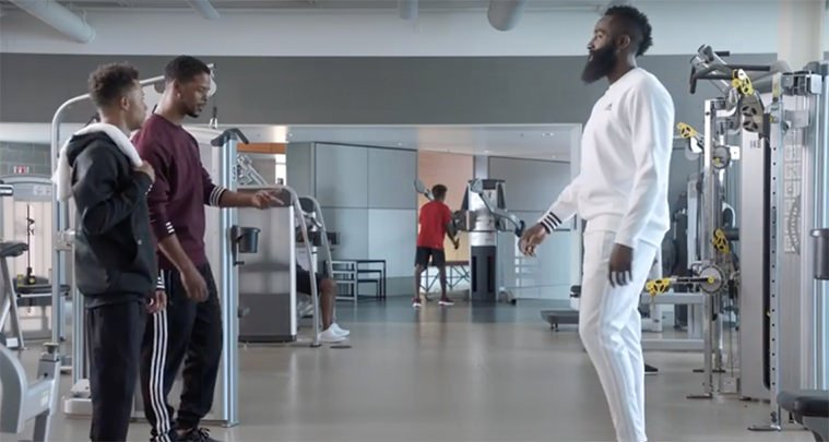 3ea8798cb1f James Harden Has a Famous Inner Voice in New Foot Locker Ad lovely ...