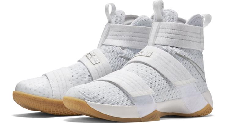 Nike LeBron Solider X White/Gum