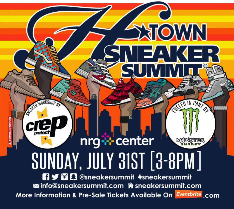 The H-Town Sneaker Summit Summer '16 Takes Place this Weekend