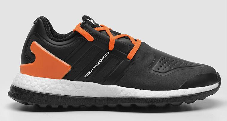 affc1ff323351 adidas Y-3 Pure Boost ZG Black Orange cheap - halfwayhousecarsales.com