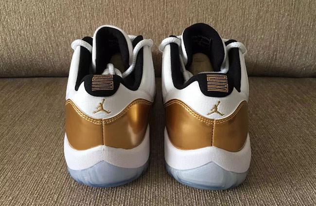 Air Jordan 11 Low GS Gold
