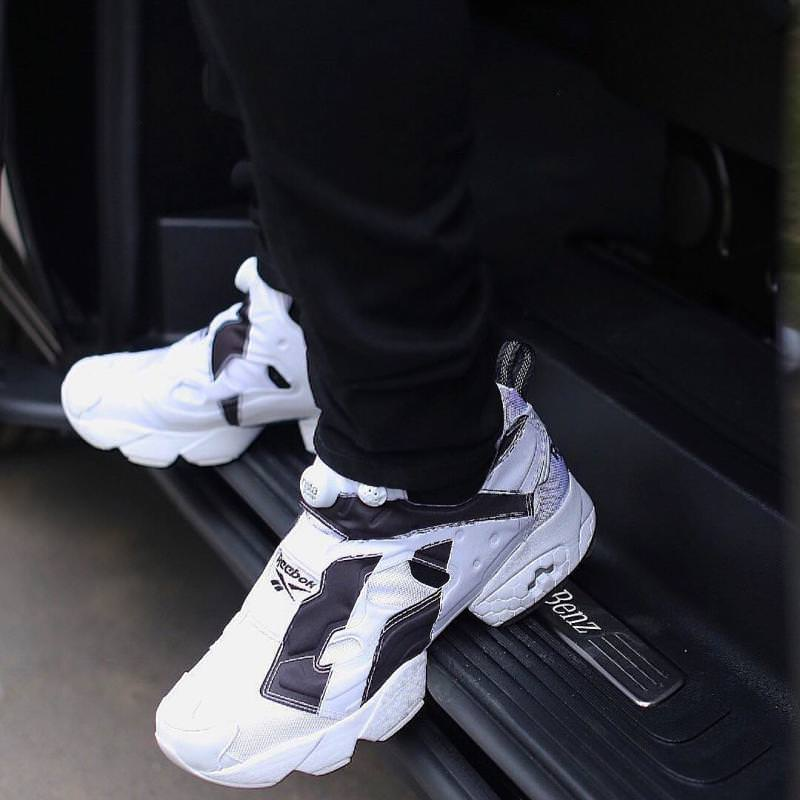"Future in the Reebok Insta Pump Fury ""Overbranded"""