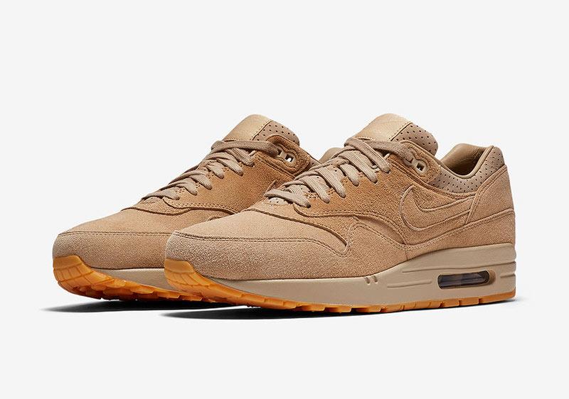 Nike Air Max 1 Pinnacle Tan Suede/Gum