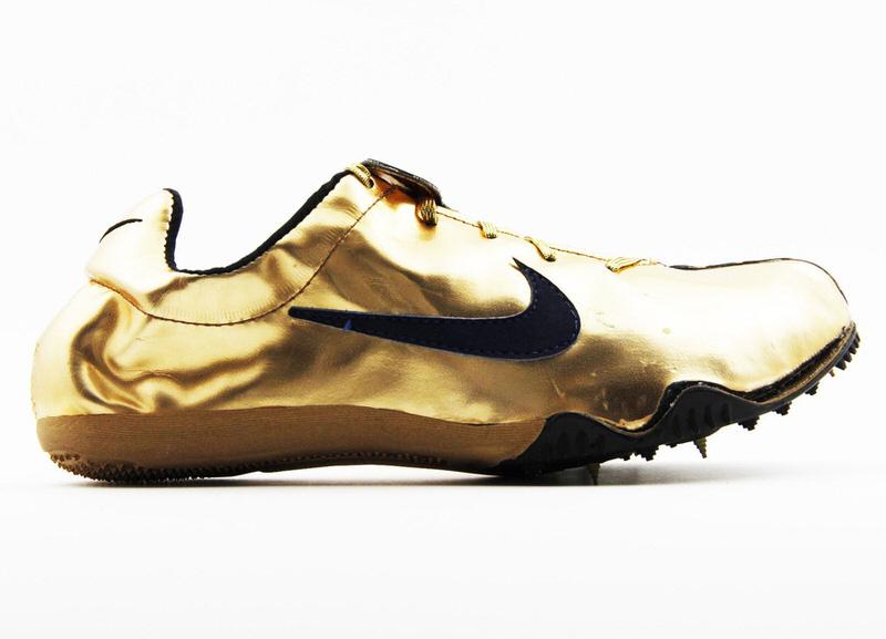 1200 Michael Johnson Nike Gold Olympic Spike 1996 3