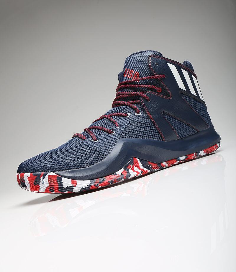 Harrison Barnes adidas Crazy Bounce 2016 Olympics shoes USA 12