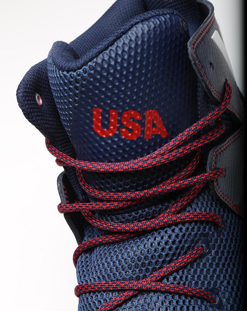 Harrison Barnes adidas Crazy Bounce 2016 Olympics shoes USA 3