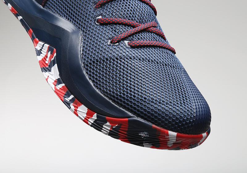 Harrison Barnes adidas Crazy Bounce 2016 Olympics shoes USA 6