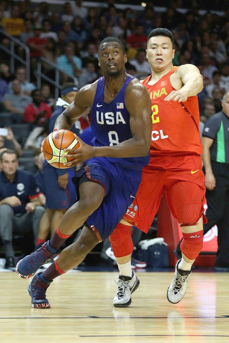 Harrison Barnes adidas Crazy Bounce 2016 Olympics shoes USA 9