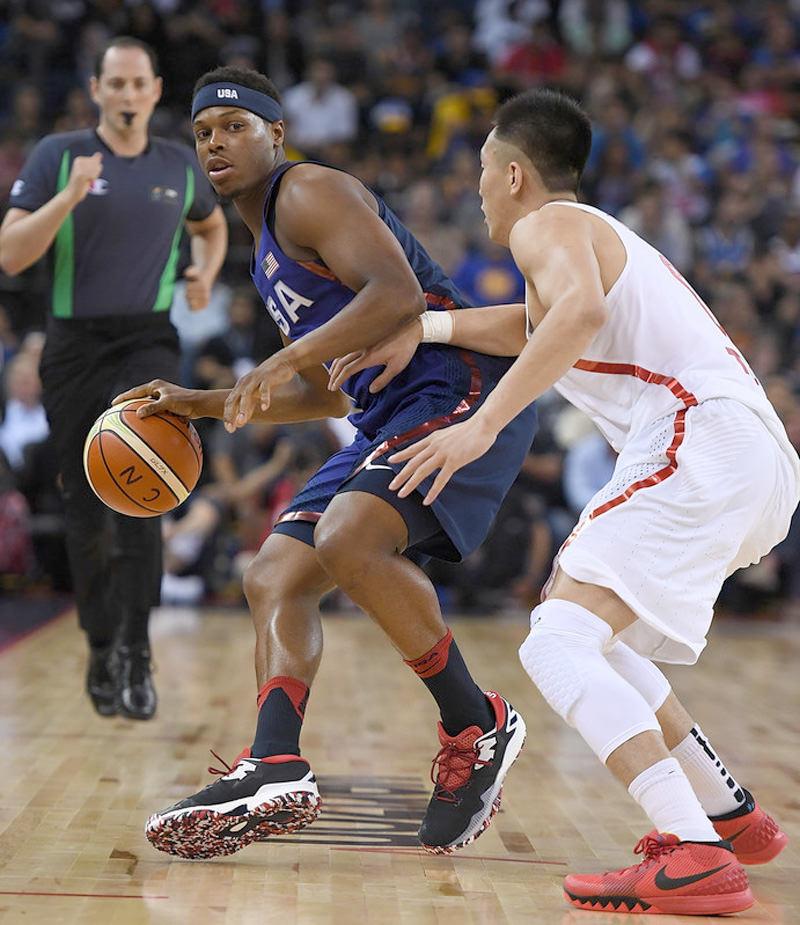 Kyle Lowry USAB Olympics adidas Crazylight Boost 2016 5 B