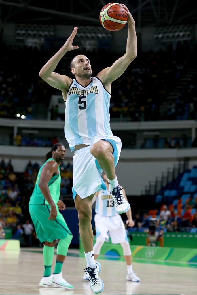 Manu Basketball+Olympics+Day+8+66NahF0WCiEx