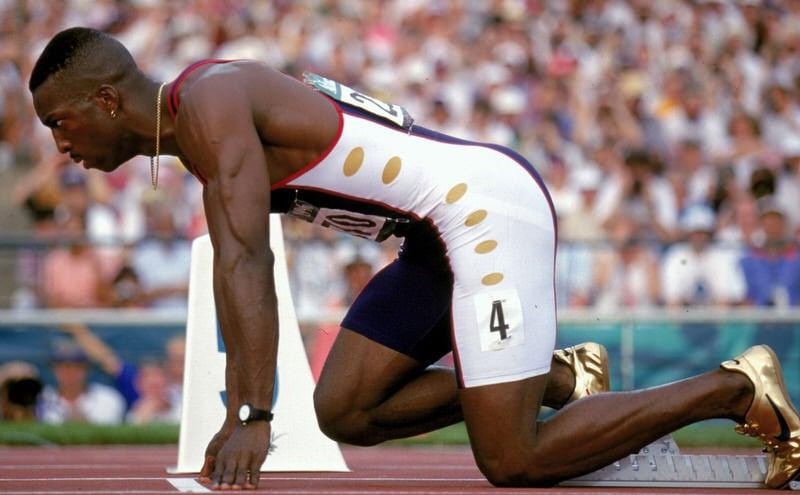 Michael Johnson Nike Gold Olympic Spike 1996 8 B