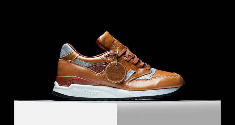 new balance luxury leather