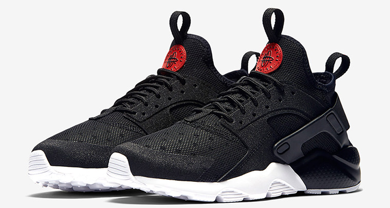 Nike Huarache Black And Red 2016