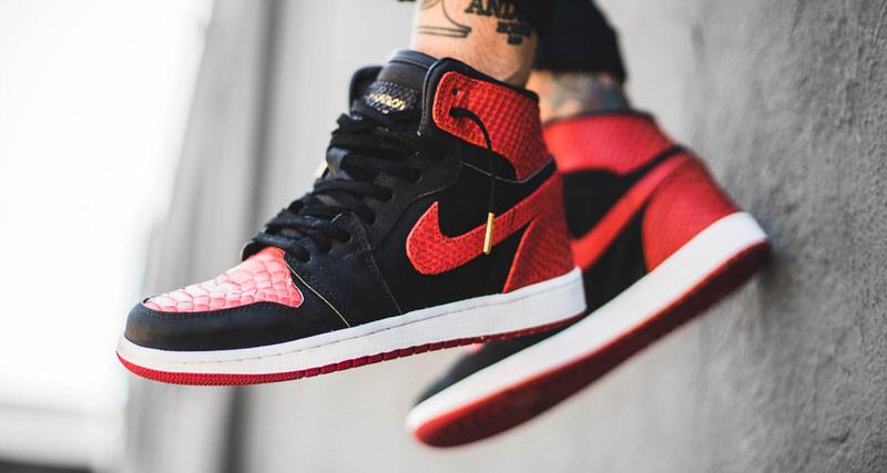 "Air Jordan 1 ""Exotic Banned"" Custom by The Shoe Surgeon"