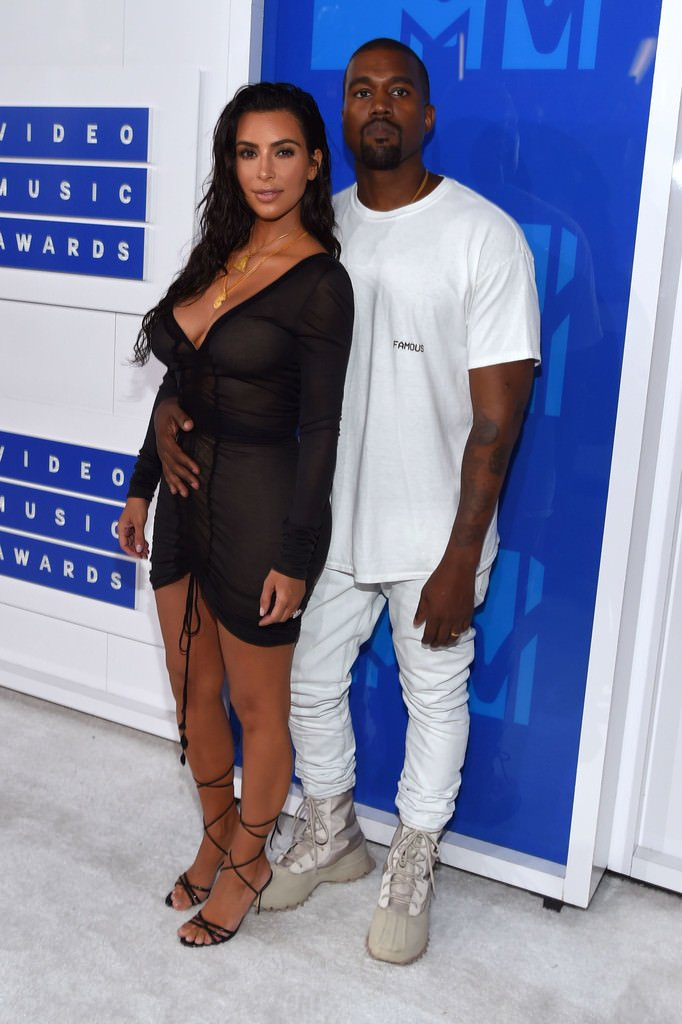 Kanye West in the adidas Yeezy 1050