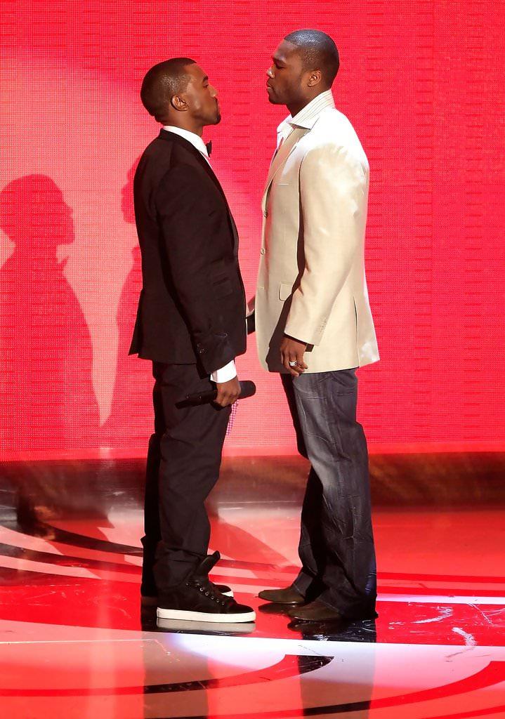 Kanye West in Lanvin sneakers