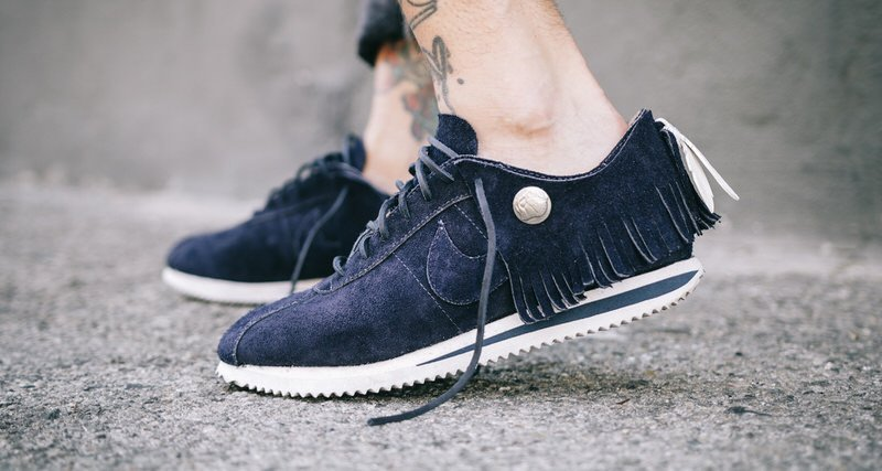Nike Cortez Moccasin Custom by The Shoe Surgeon