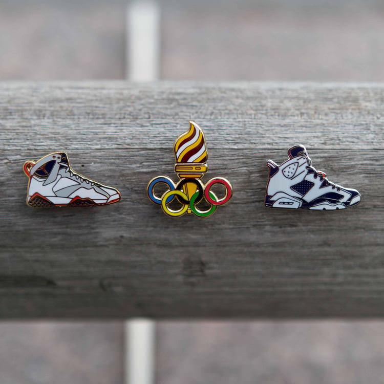 """Air Jordan 7 & 6 """"Olympic"""""""