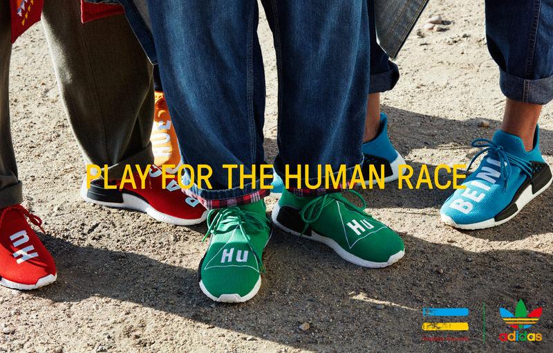 Pharrell x adidas NMD Hu Collection