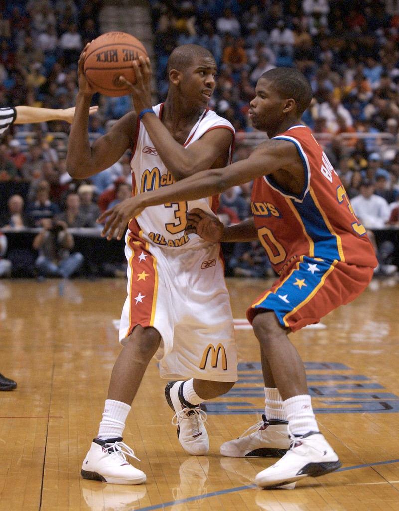 2003 KOC CP Aaron Brooks McDonalds Game
