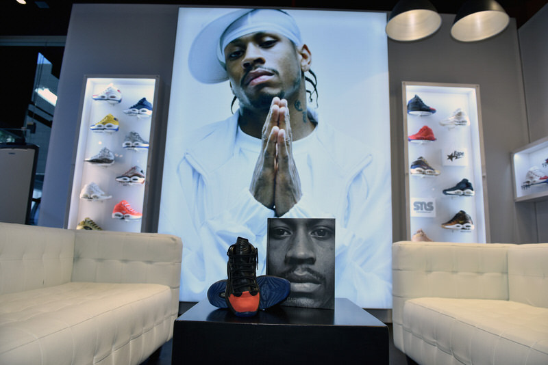 NEW YORK, NY - SEPTEMBER 15: The overall general view at the Reebok X Packer Shoes launch party to celebrate Allen Iverson at Reebok FitHub Union Square on September 15, 2016 in New York City. (Photo by Bryan Bedder/Getty Images for Reebok)