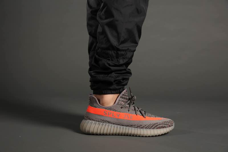 Adidas Yeezy Boost 350 V2 Grey Orange | Winter outfits