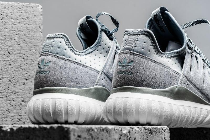 Adidas Tubular Radial White Light Grey