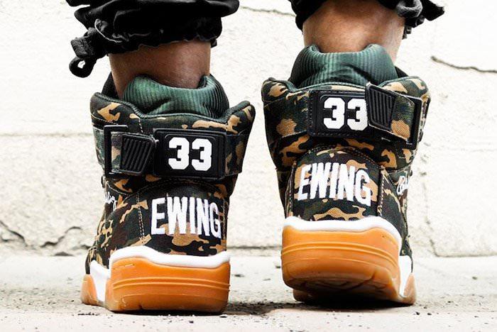 Ewing Athletics 33 Hi Camo/Gum