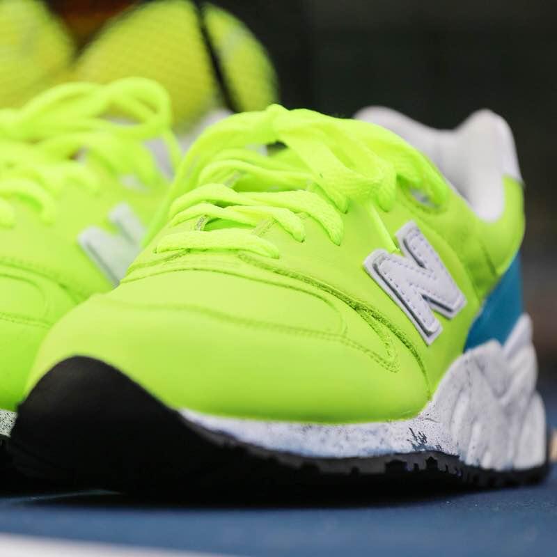 "New Balance 999 ""Tennis Ball"" Custom by Malcolm Garret"