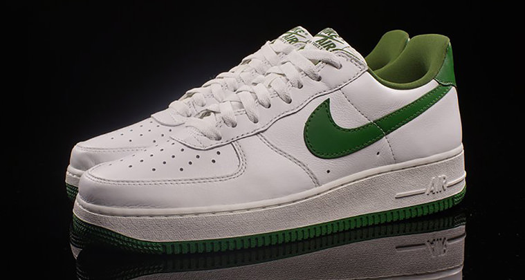 air force green and white