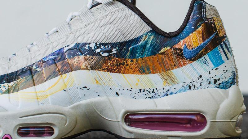 The size? x Dave White x Nike Air Max 95