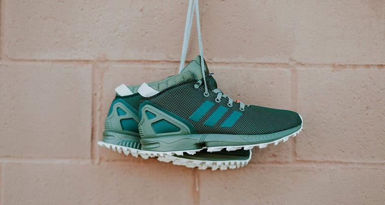 adidas ZX Flux 5/8 TR Olive/Beige