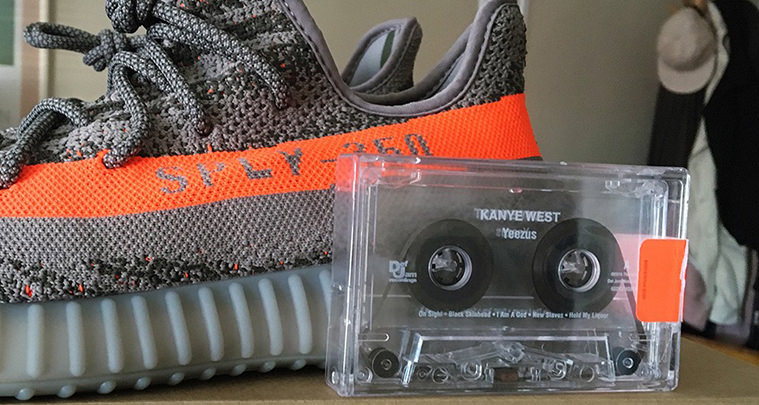 f1ec98a38 Here s an Interesting Theory on the adidas Yeezy Boost 350 V2 Orange Stripe  Placement