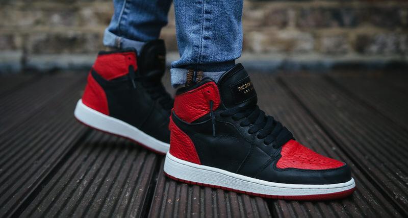 "Air Jordan 1 Premium ""Swooshless"" Custom by The Shoe Surgeon"
