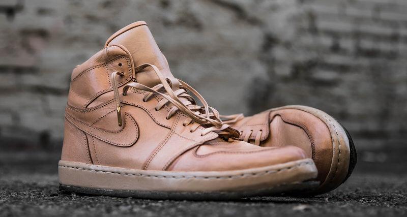 "Air Jordan 1 ""Worn Veg Tan"" Custom by The Shoe Surgeon"