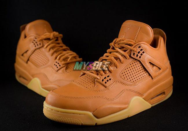 Air Jordan 4 Premium Wheat