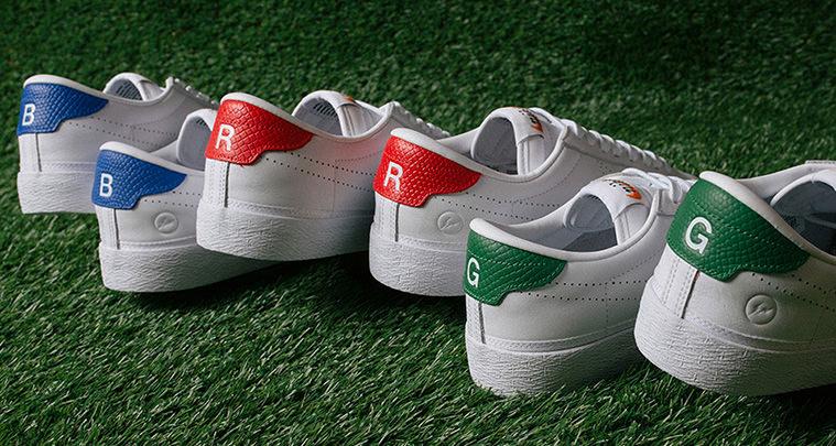 fragment design x Nike Tennis Classic AC BRG