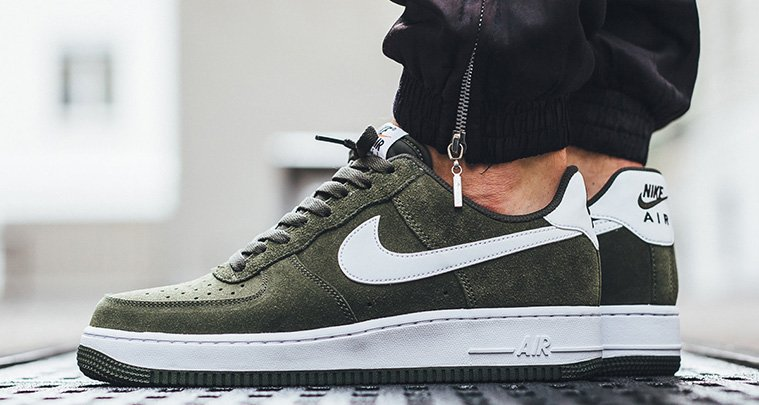 Nike Air Force 1 Low Herren Schuhe Cargo KhakiCargo Khaki