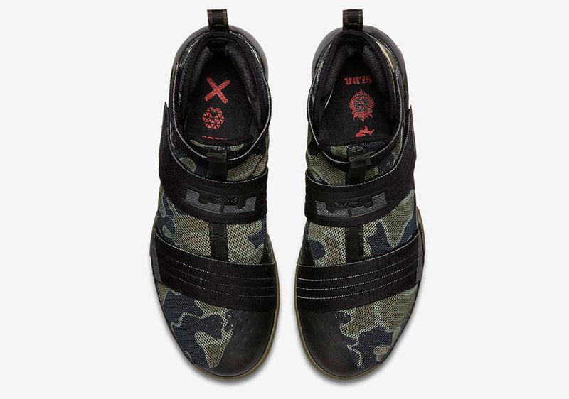 Nike LeBron Solider 10 Camo