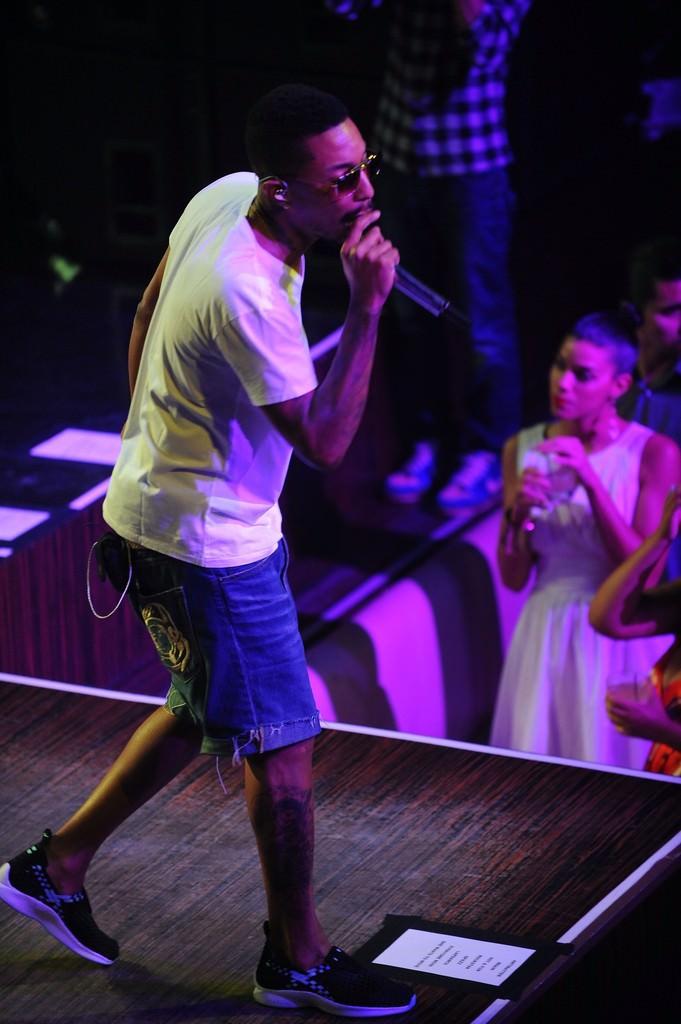 Pharrell in the Nike Air Woven
