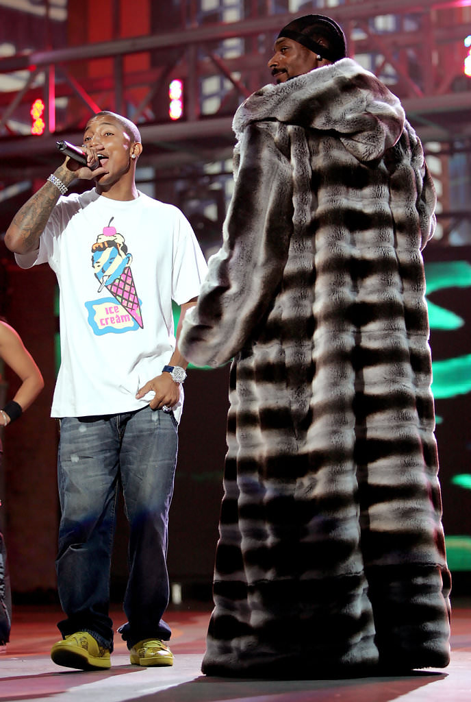 Pharrell in the Reebok Ice Cream Low (photo by Frank Micelotta/Getty Images via