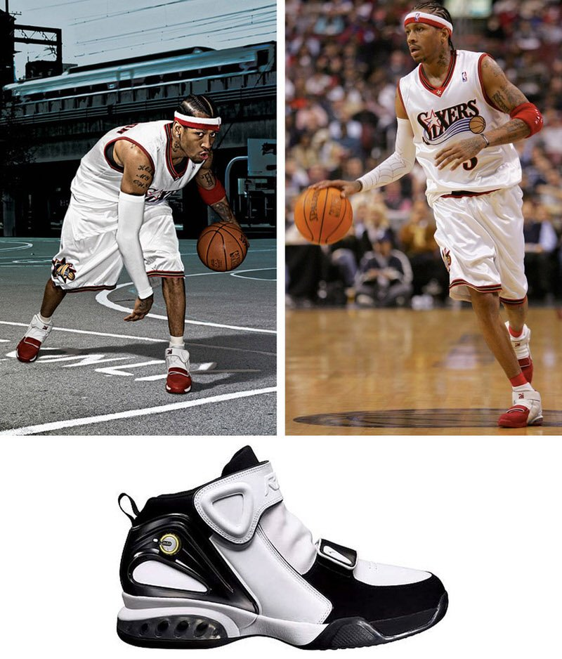 History of Allen Iverson Reebok Shoes