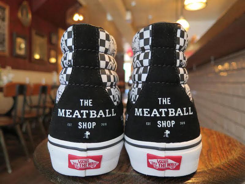 The Meatball Shop x Vans Sk8-Hi